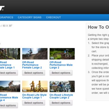 Giant: Graphics Web Store